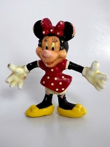 Figurine-rare-Disney-minnie-8-5-cm-monogram-1993-Mickey