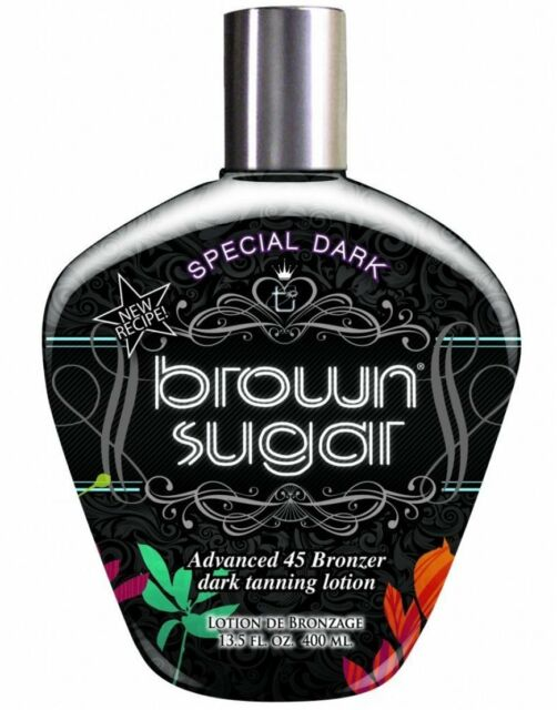 Tan Incorporated Special Dark Brown Sugar Tingle & DHA Free Tanning Lotion 250ml