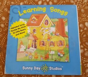 Learning-Songs-20-Children-039-s-Songs-on-CD-by-SUNNY-DAY-STUDIOS