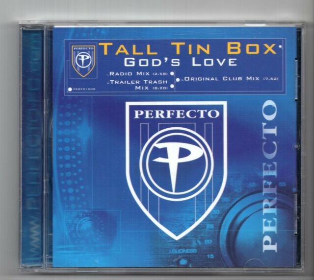 (IZ739) Tall Tin Box, God's Love - 2001 CD