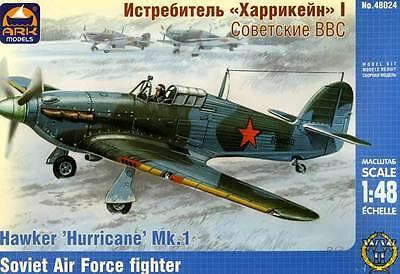 Arca Hawker Hurricane Mk.i / 1 Russian Air Force Fighter Modello Kit 1:48 Soviet Saldi Estivi Speciali