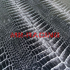 "12""x60"" 2D High Gloss ALLIGATOR Skin Vinyl Wrap Sticker Decal Pro Grade"