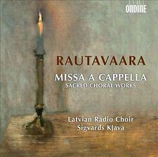 Rautavaara: Missa a Cappella (CD, Jun-2013, Ondine)
