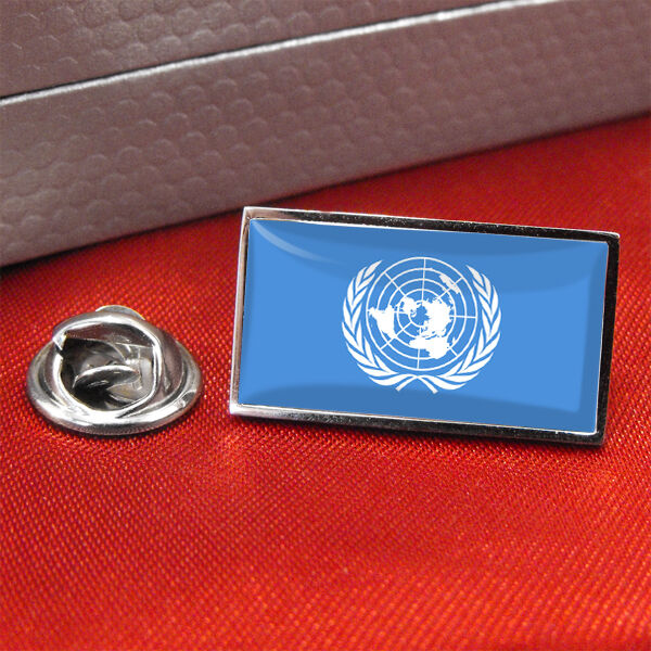 UN United Nations Flag Lapel Pin Badge/Tie Pin