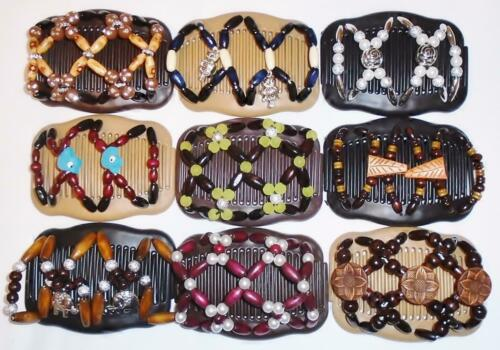 """African Butterfly Style Magic Combs Angel Wings Hair Clips 4x3.5/"""" Quality S82"""