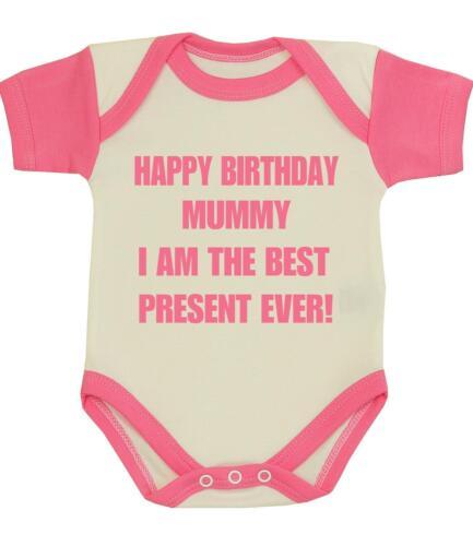 BabyPrem Baby Clothes Boys Girls BIRTHDAY DADDY One-Piece Creeper Vest Gifts