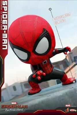 Hot Toys COSB630 Spider-Man Far From Home Mini COSBABY Action Figure Doll Toys