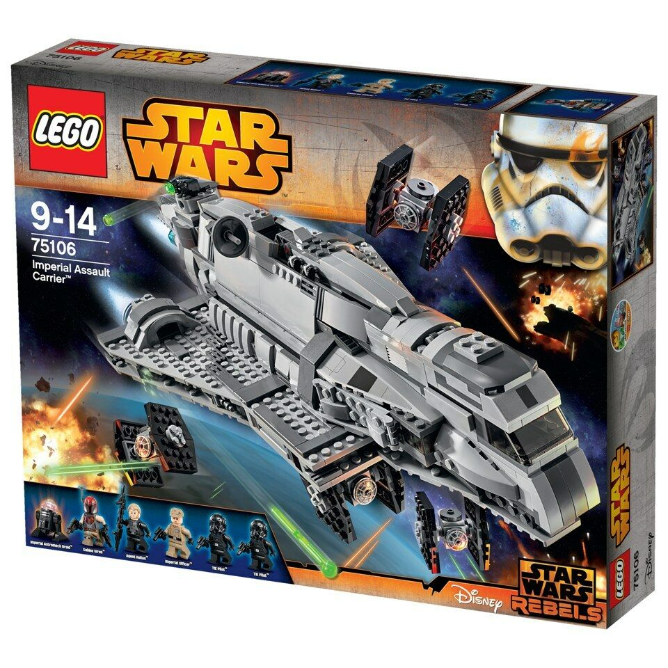 Lego Star Wars 75106 Imperial Assault Carrier Sealed