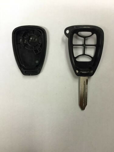 6 Button Chrysler Dodge Jeep Keyless Entry Remote Shell Key Blade USA SHIPPING