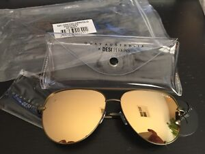 957ffdcd820 Quay Sunglasses Desi Perkins - High Key - Green Gold - BNIB 100 ...