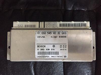 0335454032 abs esp pml Mercedes R230 SL55 SL500 module