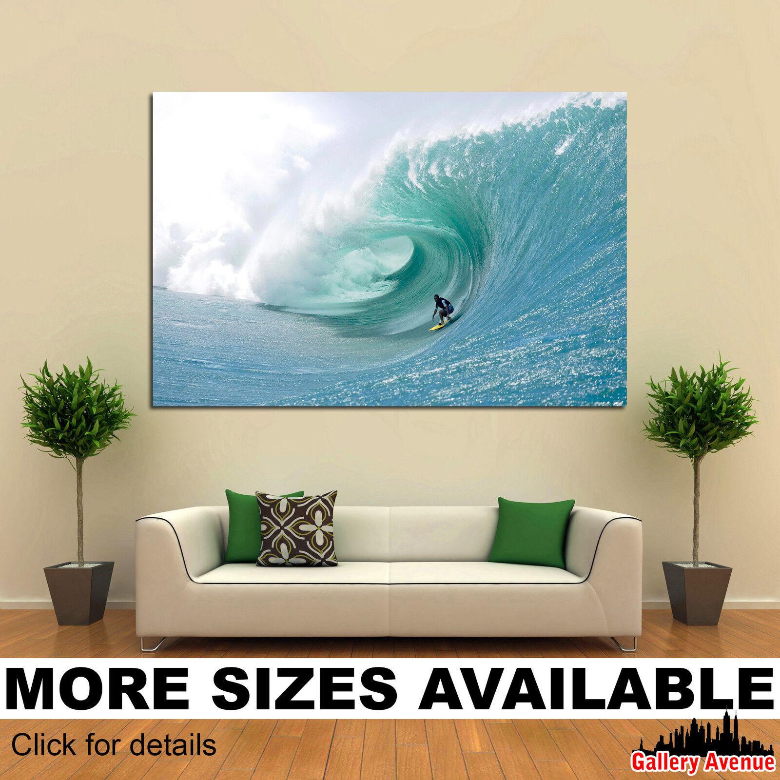 Wand Kunst Canvas Bild Drucken - Manoa Drollet Surfing 3.2