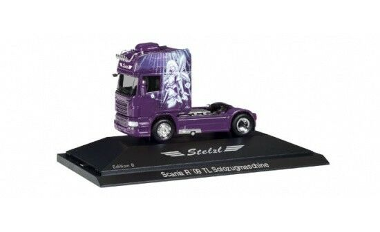 110921 - Herpa Scania R TL tracteur  Stelzl-Edition 8  - 1 87