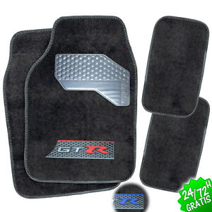 SET-4x-ALFOMBRAS-COCHE-ALFOMBRILLAS-MOQUETAS-UNIVERSAL-CARPET-CAR-MAT-SET