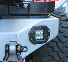 "3"" CREE LED POD CUBE LIGHT OFFROAD BUMPER TRUCK 4X4 JEEP FLUSH MOUNT 3X3"
