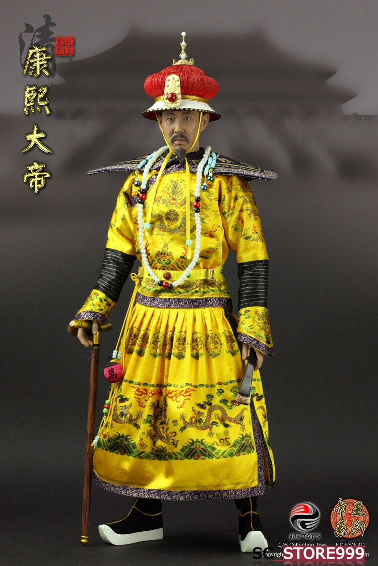 303giocattoli ES3001 1 6 Dynasty serie of Emperors Kangxi Ancient azione cifra