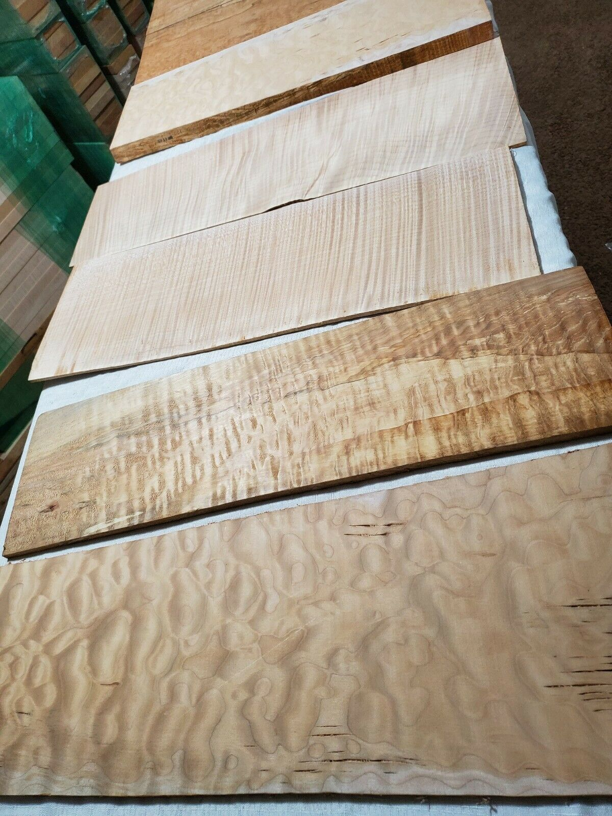 Luthier Deal- 889-Billet Cut Offs Single Pieces All Wood In Photos Ships