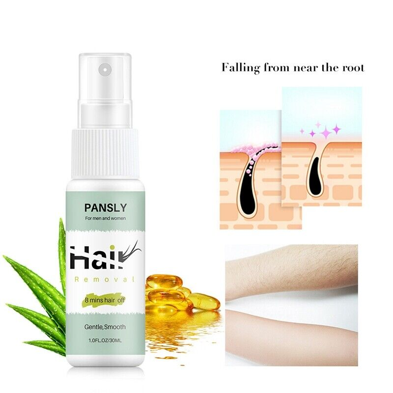 Pansly Hair Removal Cream Spray Body Private Parts Lower Leg Hair