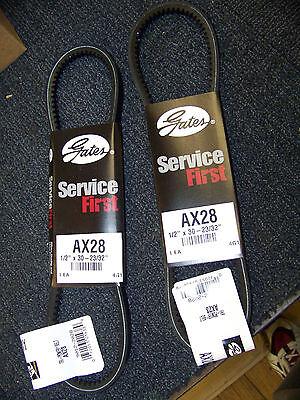 D/&D PowerDrive AX28 V Belt  1//2 x 30in  Vbelt