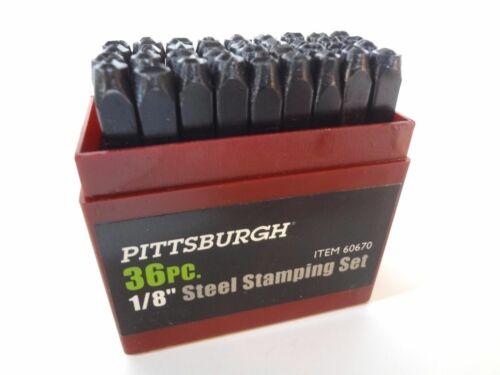 Body Tag Model Number Stamp Set Hot Rod Rat Street Kit Car Salvage # Stamps Vin