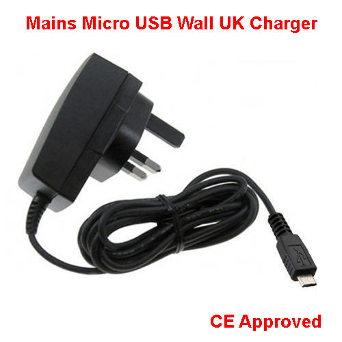 FAST CHARGER FOR TESCO HUDL TABLET MICRO USB MAINS WALL PLUG 2Amp Adapter