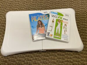 Nintendo Wii Balance Board with Daisy Fuentes Pilates & Wii Fit Plus Games
