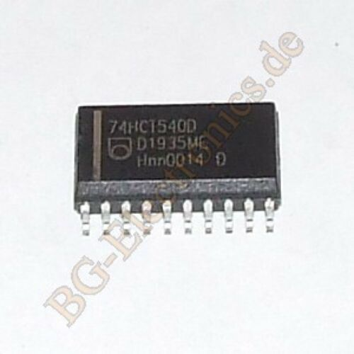 2 x 74HCT540D Octal buffer//line driver; 3-state; inverting Philips SO-20 2pcs