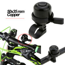 For Security Bicycling Handlebar Collet Black Bicycle Bell Horn Sound Alarm