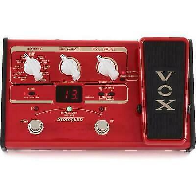vox stomplab2b modeling bass guitar multi effects pedal sl2b jp for sale online ebay. Black Bedroom Furniture Sets. Home Design Ideas