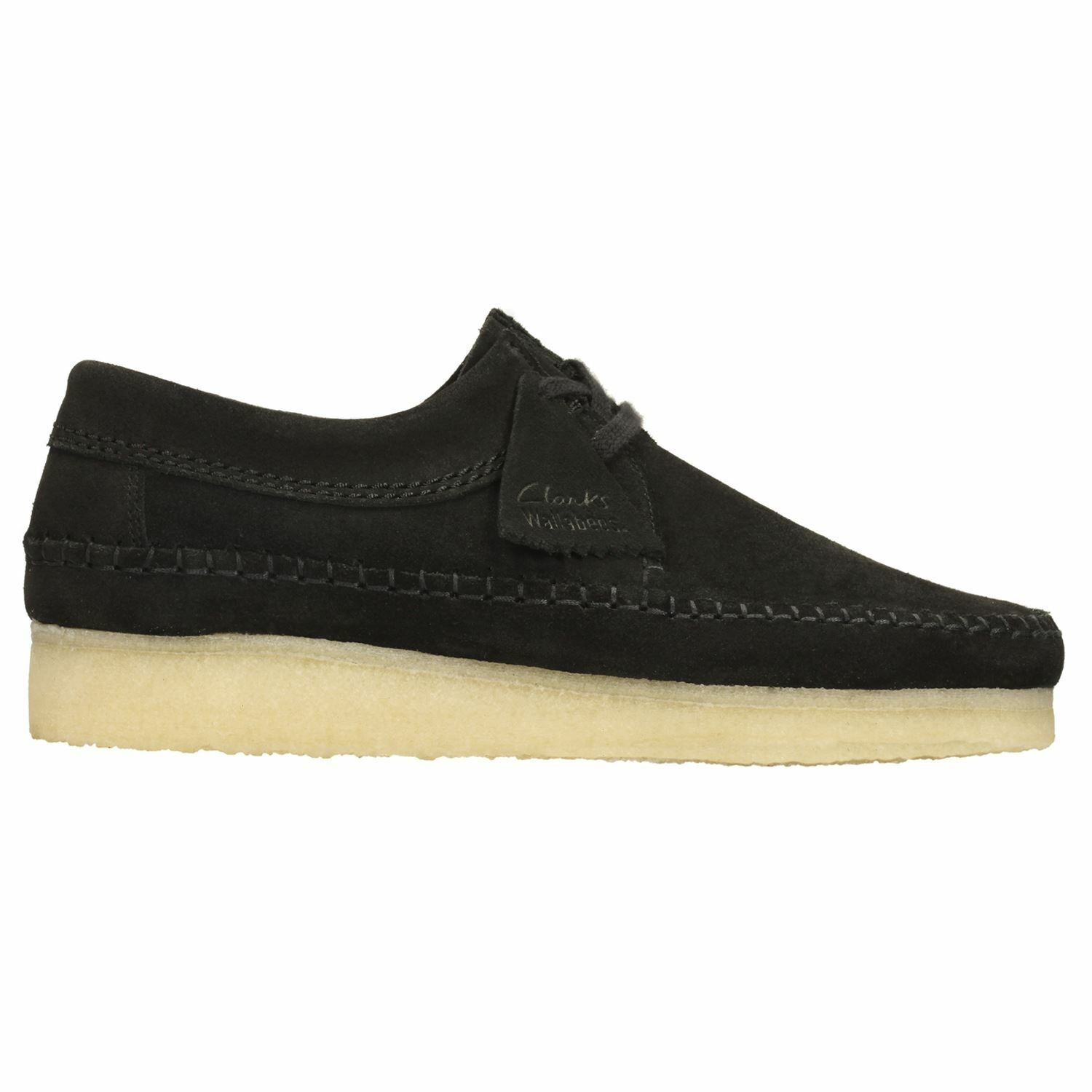 Clarks Originals Weaver Black Mens Shoes