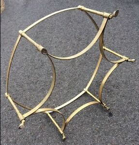 Image Is Loading Brass HOOF FOOT Round COFFEE TABLE Base Only