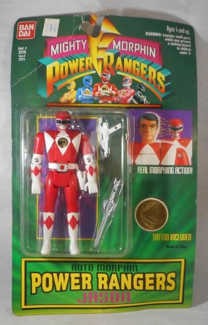 Mighty Morphin Power Rangers Legacy BAF full set MOC tous 5 Original Rangers mmpr