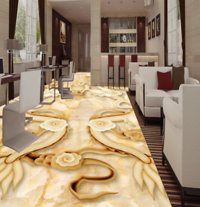 3D  Two Dragon  88 Floor WallPaper Murals Wall Print Decal AJ WALL CA Lemon