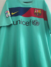Pique #3 Barcelona 2010-2011 Away Football Shirt short-sleeves XL (19786)