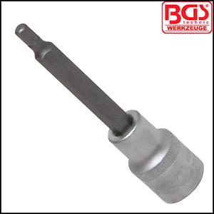 """Pro Range 5 mm Allen Key 100 mm Long 1//2/"""" Drive 4260 Internal Hex BGS"""