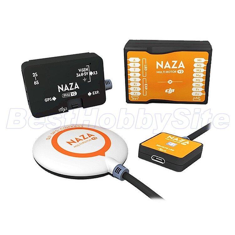 DJI NAZA-controllo di  volo M V2 sistema con il modulo GPS PMU Led Per Multi-rossoore  negozio all'ingrosso