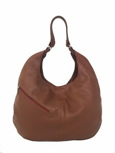 Tan-Brown-Leather-Hobo-Purse-Large-Slouchy-Shoulder-Bag-Handmade-handbags