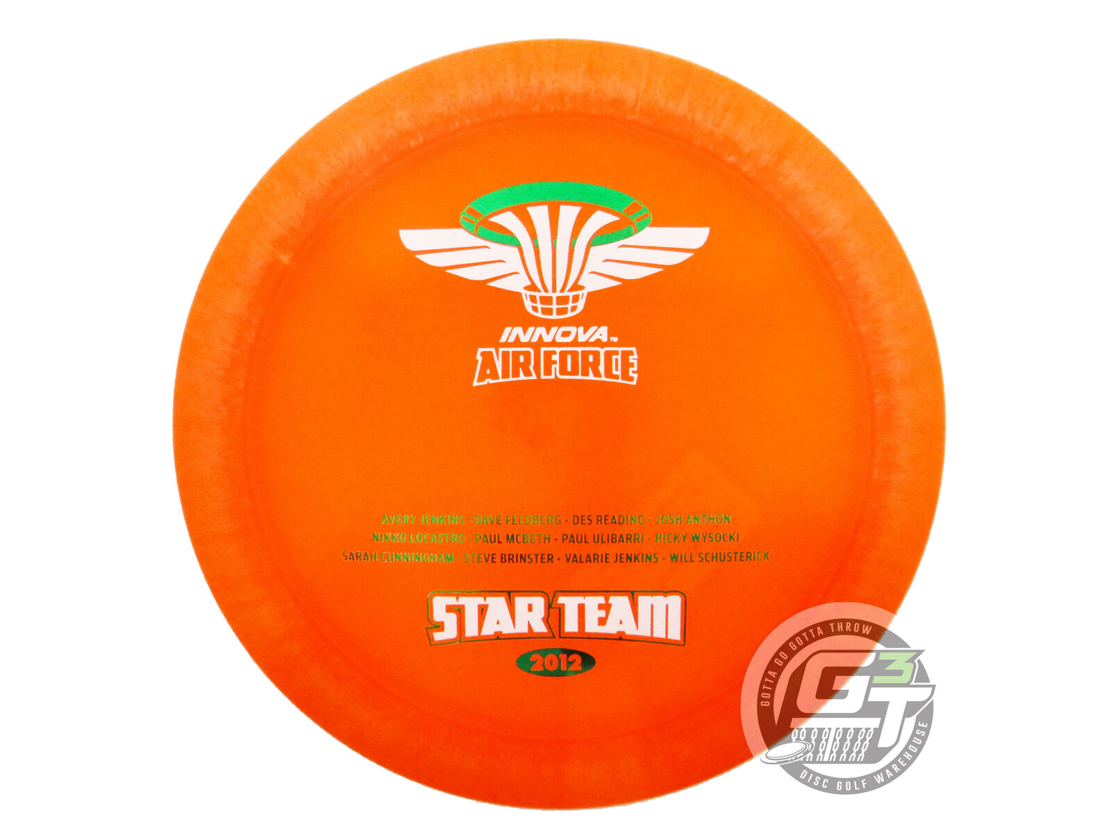 NEW Innova Blizzard Destroyer 158g arancia 2012 Star Team FELDBERG COLLECTION