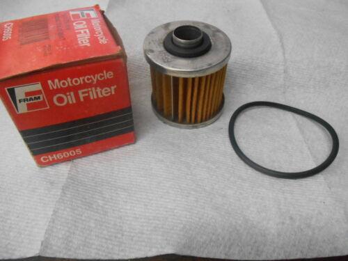 NOS Yamaha Fram Oil Filter XC180 XC200 SR250 XV250 SR500 TT500 CH6005