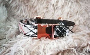 Barkberry-Plaid-Slim-Fit-Dog-Collar-Small-Dogs-15MM-wide