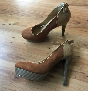 competitive price 394f0 f4400 Details zu Bruno Banani Pumps 37 High Heels Neu