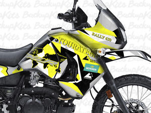 Image Is Loading Kawasaki KLR 650 ADVENTURE RALLY Design Sticker Graphic