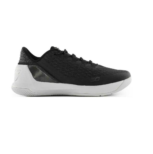 Mens UNDER ARMOUR CURRY 3 LOW Black