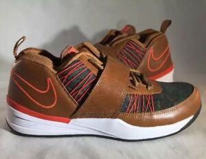 Nike Zoom Revis EXT Camo/Brown Leather Size 9.5 Rare