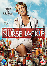 1 of 1 - Nurse Jackie Complete Series 3 DVD All Episodes Third Season Original UK Rel NEW