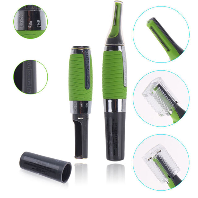 Useful Unisex Safe Personal Hair Trimmer Ear Nose Mustache Beard Grooming Kit PA