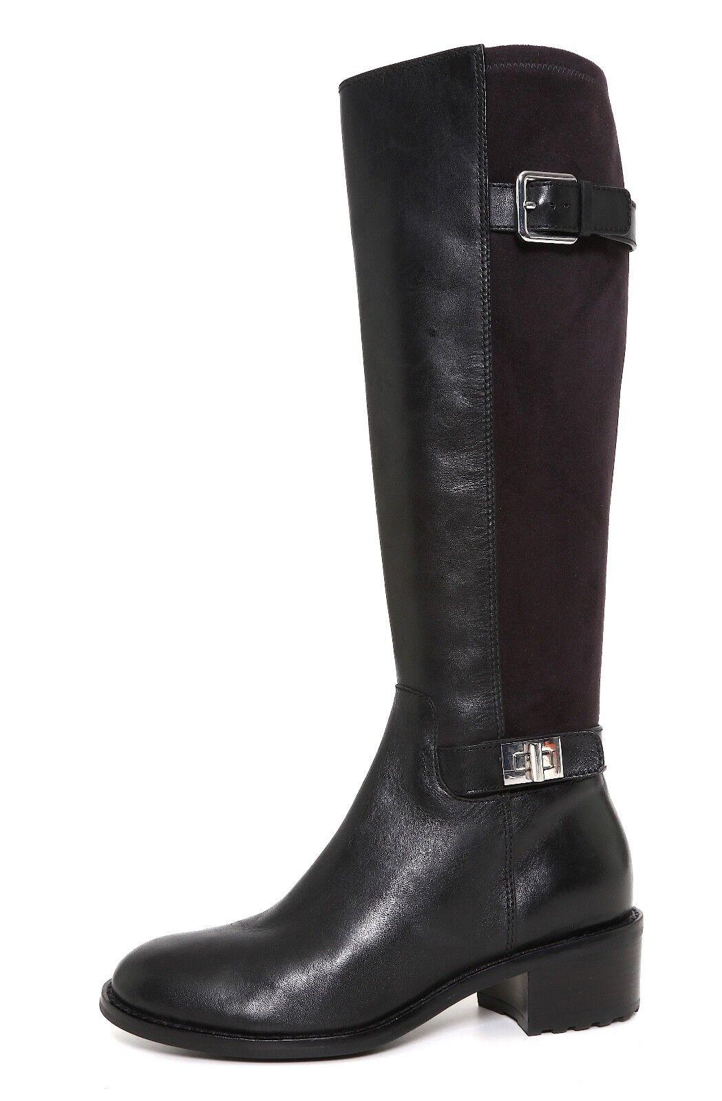 Cole Haan Kinley Suede Leather Boot Black Women Sz 5 B 6766