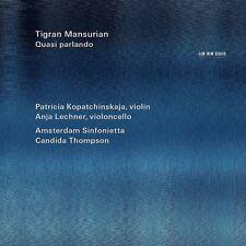 Kopatchinskaja/Lechner/Amsterdam Sinfonietta-quasi parlando CD NUOVO