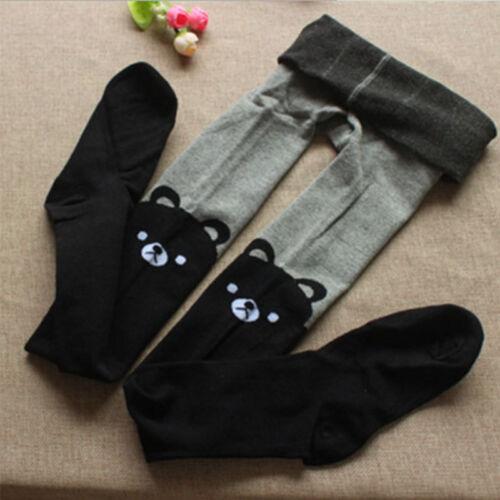 Baby Girls Kids Cotton Tights Pantyhose Stockings Socks Stretchy Hosiery Bottoms