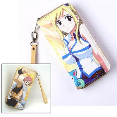 HOt Anime Game DANGANRONPA Cosplay PU Leather long Purse Wallet